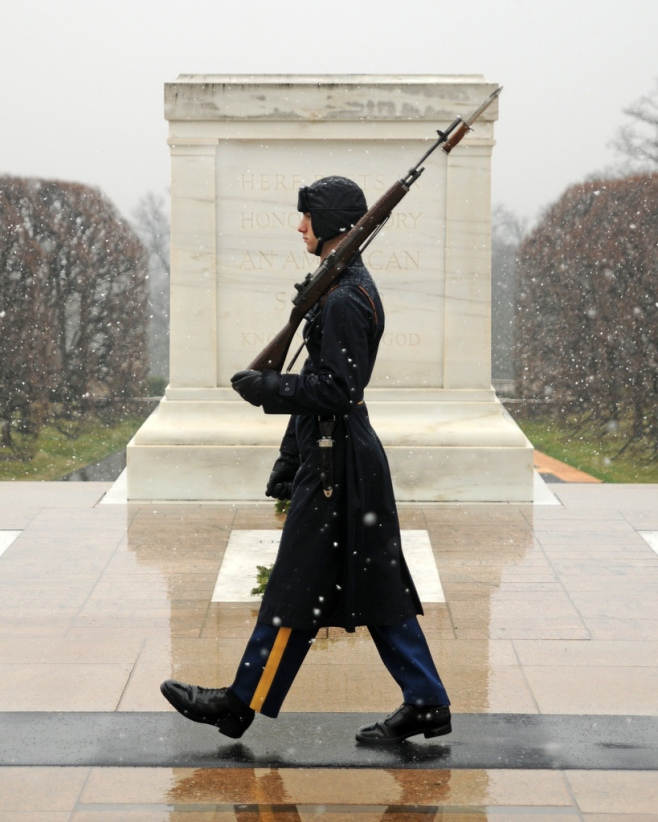 Tomb of the Unknown Soldier, Arlington, VA