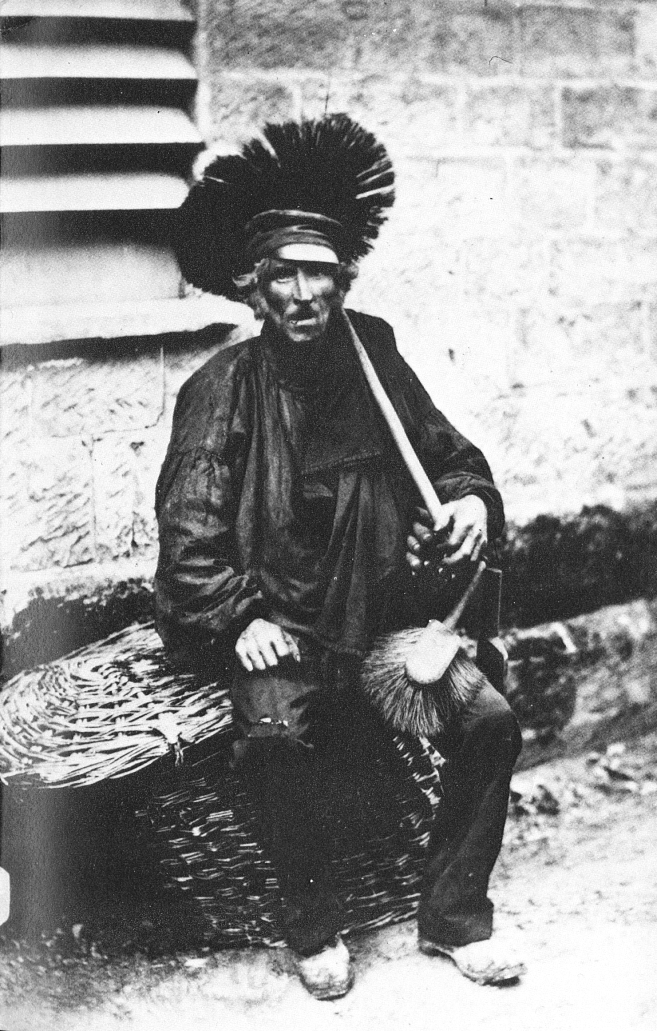 Chimney Sweep in 1850