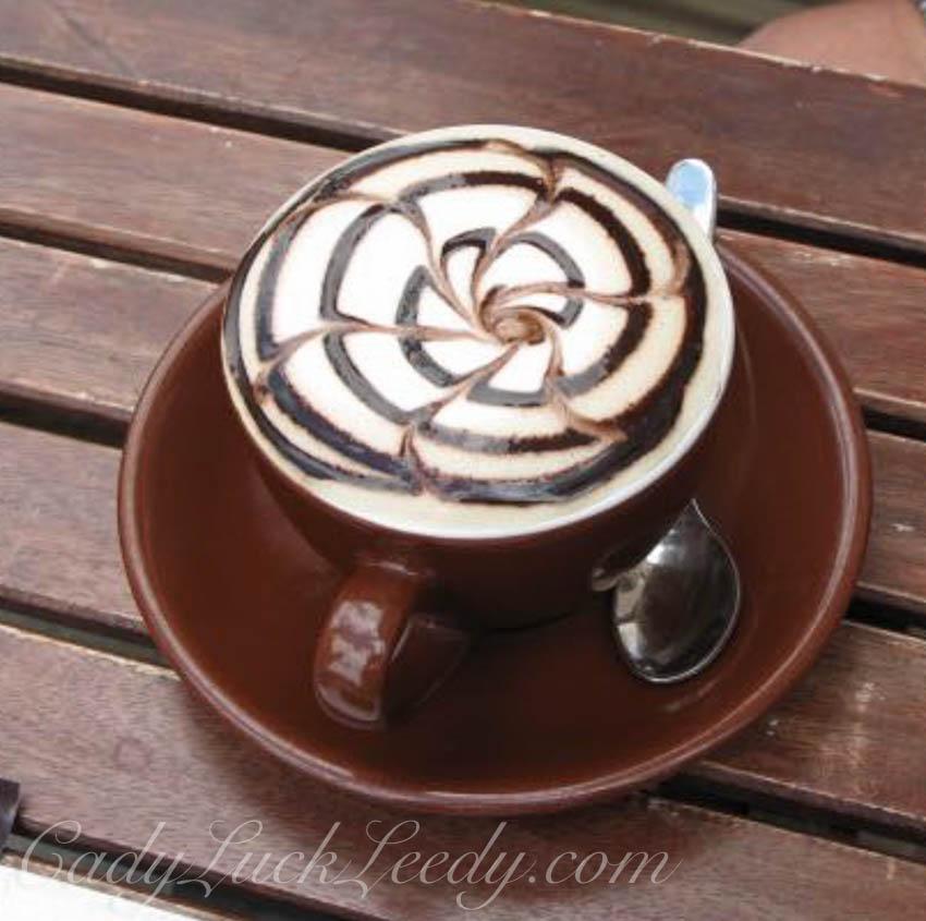 November, A Chocolate Mocha