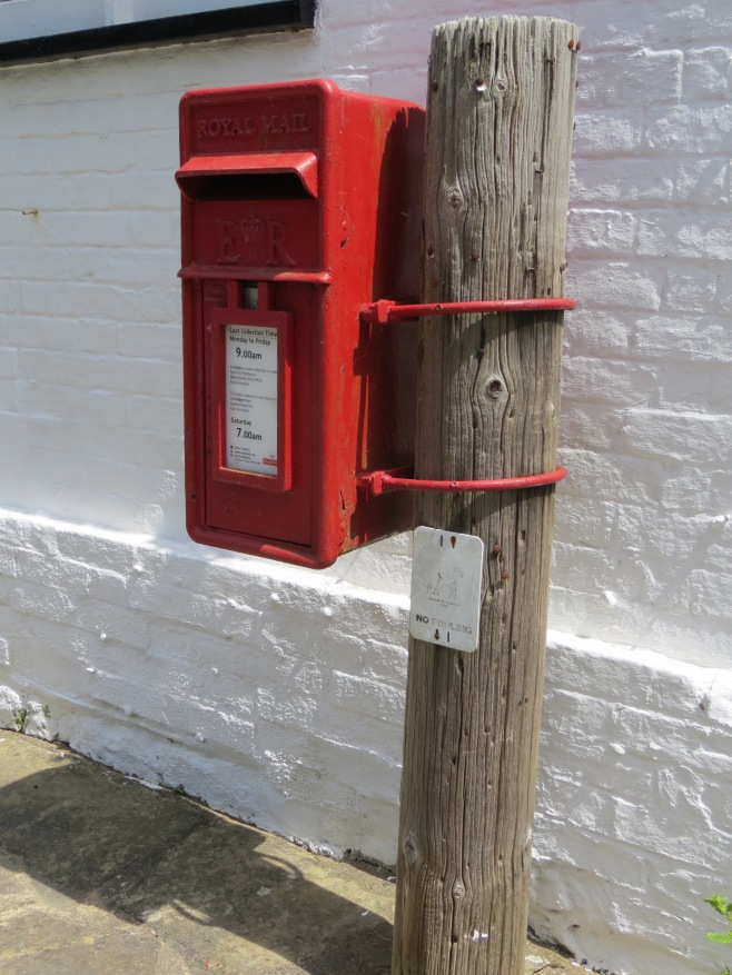 The English Post Box