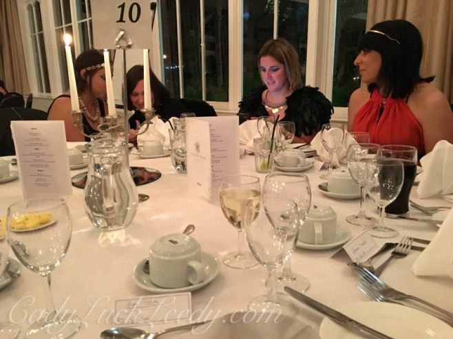 Guests at Agatha Christie Dinner Mystery, Old Swan Hotel, Harrogate, UK