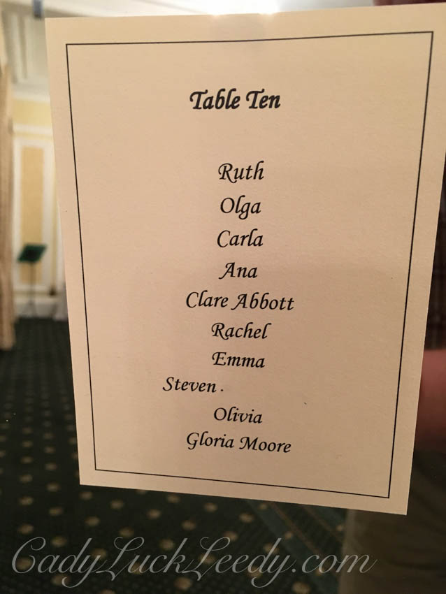 Table Ten