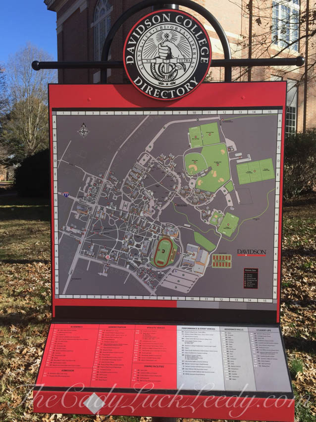 The Davidson College Map