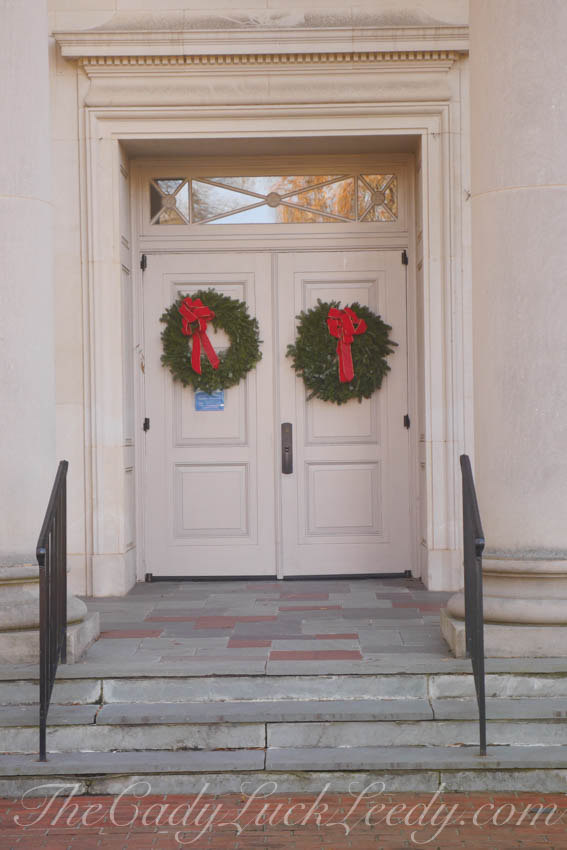 The Doors of Davidson Presbyterian Church