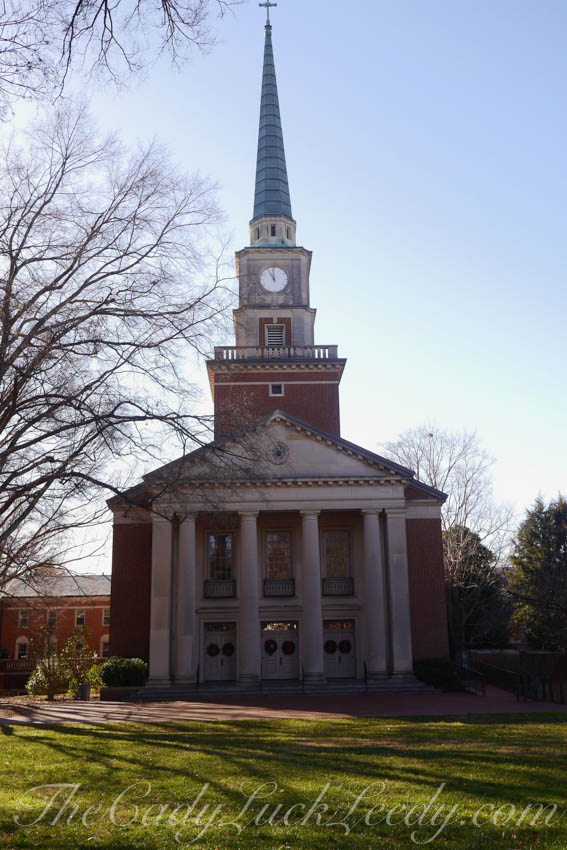 Davidson Presbyterian Church on the Campus of Davidson College